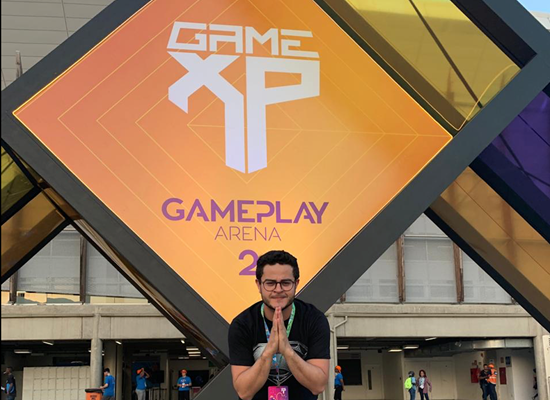 Youtuber na Game XP, maior Game Park